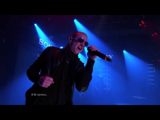 Linkin Park x Steve Aoki 'A LIGHT THAT NEVER COMES', Jimmy Kimmel Live, 26.11.13