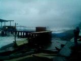 Субботний шторм в Адлере.